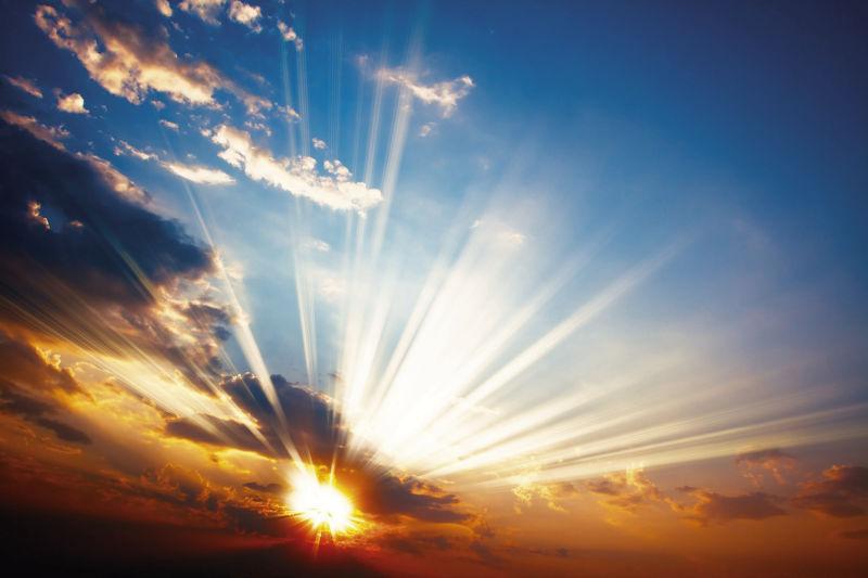 Рассвет в небе