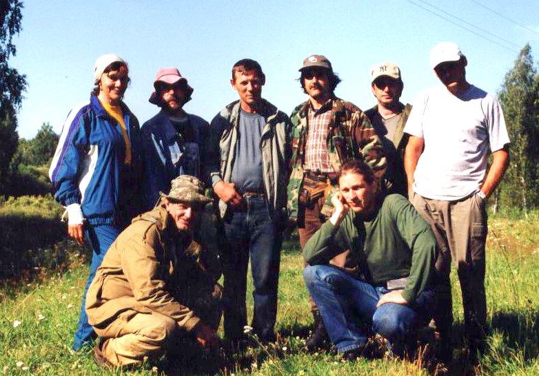 Научная экспедиция в Окунево