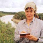 Геолог Нина Владимировна Сакулина в Окунево