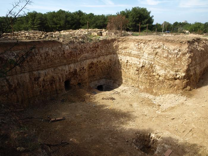 Раскопки пирамиды в Крыму