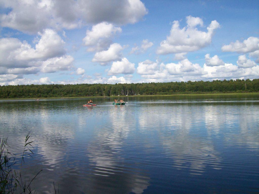 озеро Данилово Омск