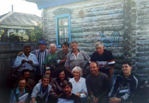 группа учёных в Окунево